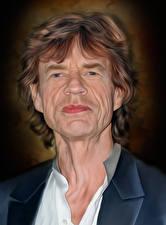Обои Мужчины Смотрит Mick Jagger, Rolling Stones