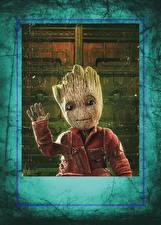 Картинка Сверхъестественные существа Стражи Галактики. Часть 2 Инопланетяне Baby Groot Кино Фэнтези
