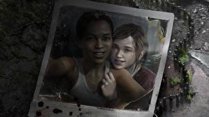 Фото The Last of Us Двое Негр Девочки Ellie Игры