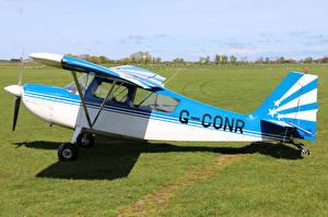 Фотографии Самолеты Сбоку G-CONR Champion 7GCBC Citabria