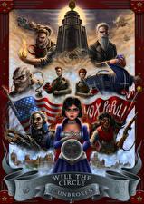 Обои BioShock Infinite Elizabeth, Will The Circle Be Unbroken Игры картинки