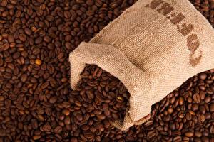 Обои Кофе Много Зерна Еда