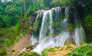 Картинка Куба Водопады Cascadas El Nicho