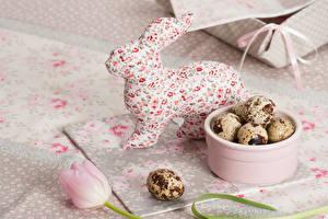 Обои Праздники Пасха Кролики Яйца