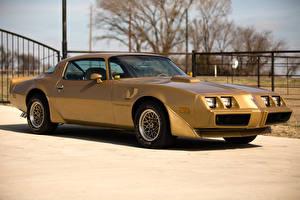 Фотография Pontiac Ретро Металлик Золотой 1979 Firebird Trans Am T-A 6.6 L78 Автомобили