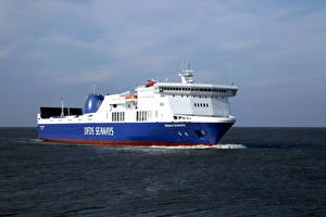 Обои Корабли Море Ferry