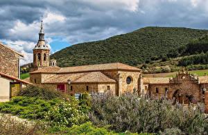 Картинки Испания Монастырь Monasterio de Yuso La Rioja