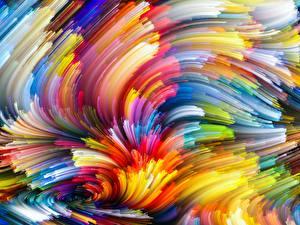 Фотографии Текстура Абстракции Разноцветные