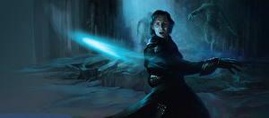 Обои Мстители (фильм, 2012) Tom Hiddleston Мужчины Волшебство Loki