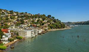 Фото США Побережье Здания Сан-Франциско город