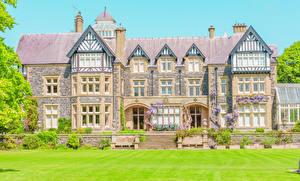 Фотография Великобритания Здания Особняк Дизайн Bodnant Estate Conwy Valley Города