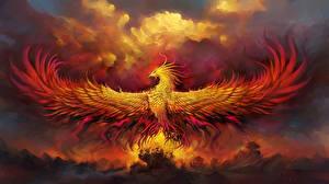 Фотография World of WarCraft Волшебные животные Феникс Крылья Al'ar, Phoenix God Игры