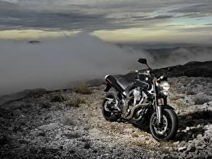 Обои Yamaha Черный 2007-12 MT-01
