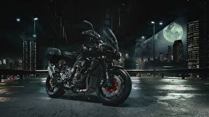 Обои Yamaha Ночные Черный Луна 2016-17 MT-10 Touring Package