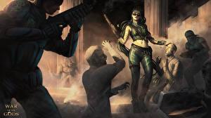 Картинки Зомби Воины War of the Gods, Medusa