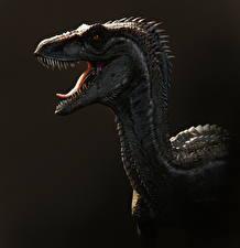 Обои Древние животные Динозавры Оскал Raptor