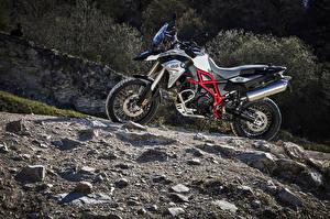 Картинки BMW - Мотоциклы Сбоку 2016 F 800 GS Trophy Мотоциклы