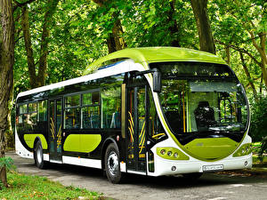 Обои Автобус Салатовый 2010-13 NABI Sirius Автомобили