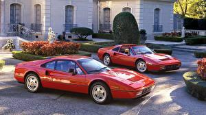 Фото Феррари 2 Красный Металлик 1985-89 Jaguar 328 Авто