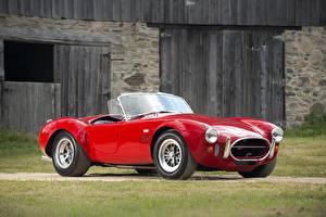Фото Форд Винтаж Красный Металлик Shelby Cobra, 1966, 427 Автомобили