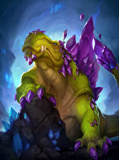 Картинки Hearthstone: Heroes of Warcraft Динозавры Galvadon Игры