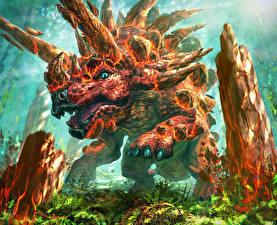 Фотография Hearthstone: Heroes of Warcraft Динозавры Iron Hide Игры