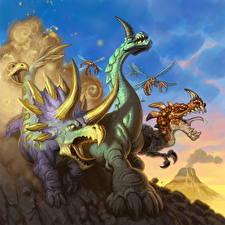 Фотография Hearthstone: Heroes of Warcraft Динозавры Stampede Игры