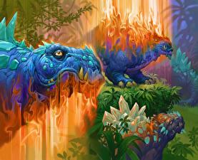 Фотография Hearthstone: Heroes of Warcraft Динозавры Sudden Genesis Игры