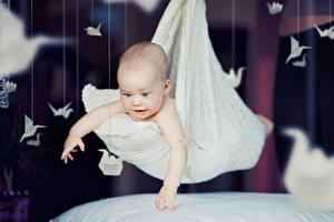 Фотографии Младенцы Рука Оригами Дети