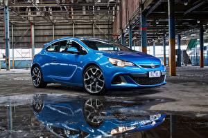 Обои Опель Синих Металлик Astra Holden VXR 2015 автомобиль