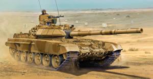 Фото Рисованные Танки Т-90