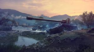 Картинка САУ World of Tanks Немецкий Rhm Borsig Waffentrager, Grille 15 Армия
