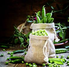 Картинки Овощи Горох Зерна Продукты питания