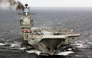 Фотография Авианосец Корабли Российские Admiral Kuznetsov