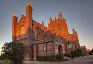 Картинка Австралия Храмы Церковь Christ Church Cathedral Newcastle