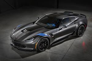 Фото Шевроле Серый Corvette Callaway Авто