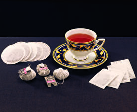 Фотография Напитки Чай Чашка Пища