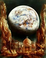 Фотография Фантастический мир Планеты