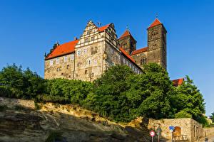 Фото Германия Замки Quedlinburg