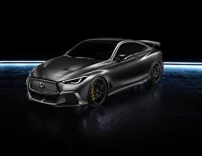 Картинка Инфинити Серый 2017 Q60 Project Black Машины