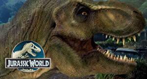 Фото Мир юрского периода Динозавры Вблизи Зубы Голова Фильмы