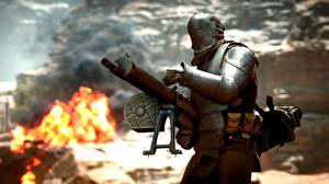 Фото Пулеметы Battlefield 1 Доспехи Игры