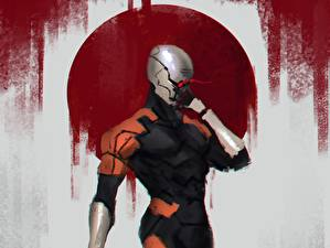 Фото Metal Gear Solid, cyborg ninja, Frank Jaeger, Gray Fox