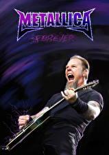 Обои Metallica Мужчины Гитара James Hetfield