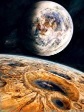 Фотографии Планеты Поверхность планеты