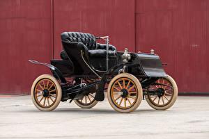 Обои Винтаж Черный 1903-04 Pierce Stanhope Авто