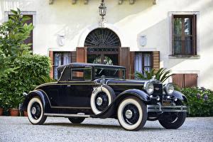 Фото Винтаж Черный 1930 Stutz Model MB Cabriolet by LeBaron Авто