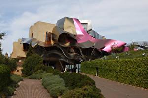 Фотография Испания Гостиница Дизайн Кусты Hotel Marques de Riscal Elciego