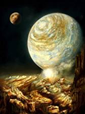 Фотографии Поверхность планеты Планеты
