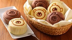 Картинка Мишки Кекс Продукты питания